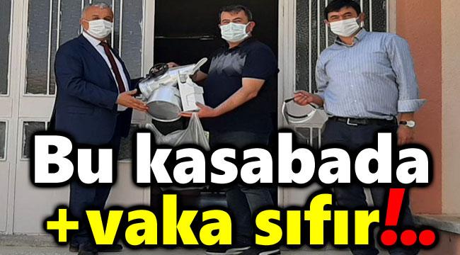 BU KASABADA KORONAVİRÜS VAKA SAYISI SIFIR!..