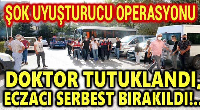DOKTOR TUTUKLANDI, ECZACI SERBEST BIRAKILDI!..