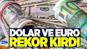 DOLAR VE EURO REKOR SEVİYEDE