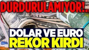 DÖVİZ YİNE REKOR KIRDI!..