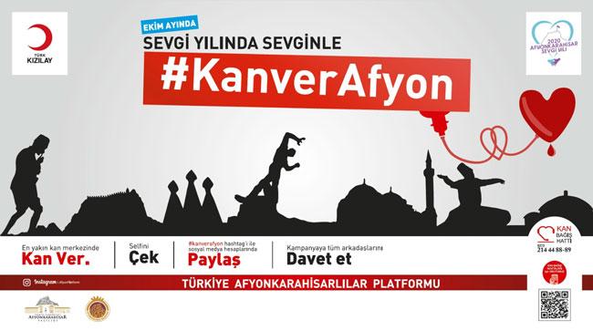 HAYDİ AFYON, KAN VERMEYE!..