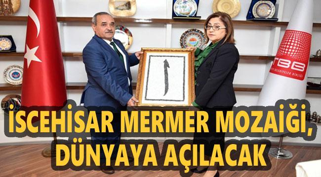 İSCEHİSAR MOZAİKLERİ GAZİANTEP'TEN DÜNYAYA AÇILACAK