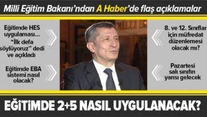 PANDEMİ DÖNEMİNDE 2+5 SİSTEMİ NASIL OLACAK?..