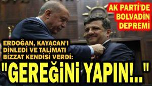 TALİMATI BİZZAT ERDOĞAN VERDİ: GEREĞİNİ YAPIN!..