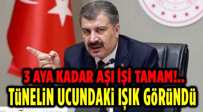 TÜNELİN UCUNDAKİ IŞIK GÖRÜNDÜ!..