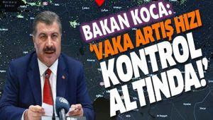 VAKA ARTIŞ HIZI KONTROLÜMÜZ ALTINDA
