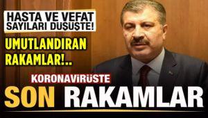 VAKA VE AĞIR HASTA SAYISI DÜŞÜŞ EĞİLİMİNDE!..