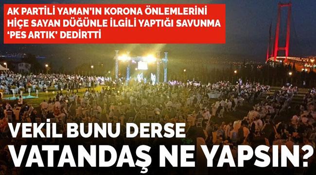 VEKİL BUNU DERSE VATANDAŞ NE YAPSIN?!..