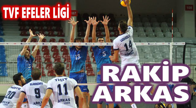VOLEYBOLDA RAKİP ARKAS SPOR!..