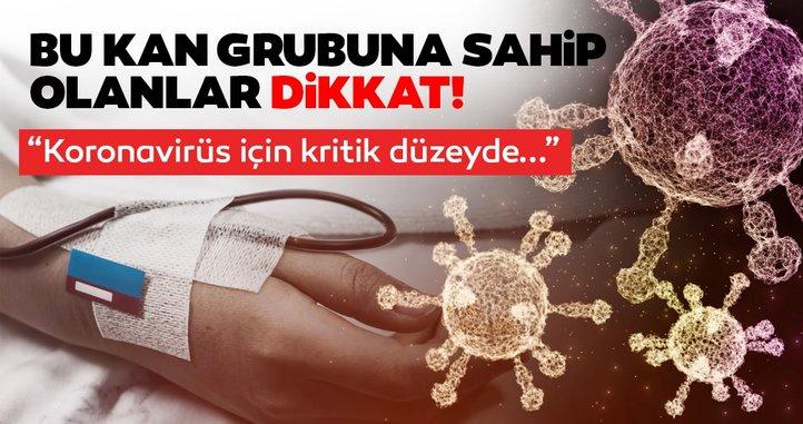 BU KAN GRUBUNA SAHİP OLANLAR, DİKKAT!..
