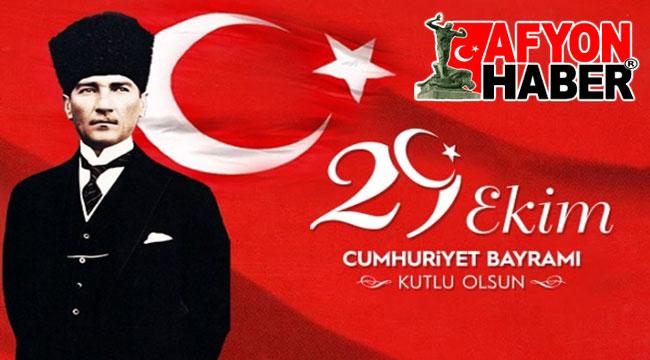 CUMHURİYET BAYRAMI KUTLU OLSUN!..