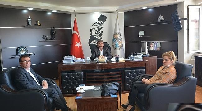 DİNAR'DA BİSİKLET YOLU PROJESİNDE SONA GELİNDİ
