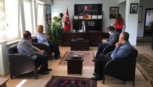 DİNAR'DA MAĞDUR OLAN 40 İŞÇİ İÇİN MİLLETVEKİLİ KÖKSAL KAYMAKAMLA GÖRÜŞTÜ