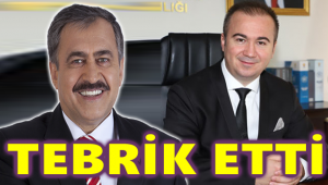 EROĞLU, İL BAŞKANI ULUÇAY'I TEBRİK ETTİ