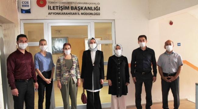 FAHRETTİN ALTUN'UN DANIŞMANI ESMA ÖZBAĞ AFYON'DA