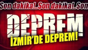 İZMİR'DE 6.6 ŞİDDETİNDE DEPREM OLDU