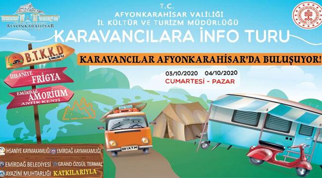 KARAVANCILAR AFYON'DA BİR ARAYA GELECEK
