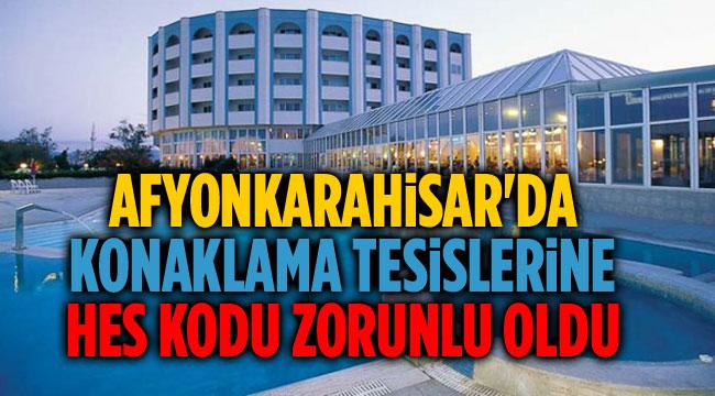 KONAKLAMA TESİSLERİNE HES KODU ZORUNLU OLDU!..