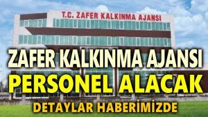 ZAFER KALKINMA AJANSI PERSONEL ALACAK!..