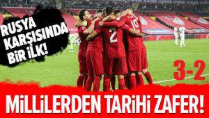 A MİLLİLERDEN TARİHİ GALİBİYET!..