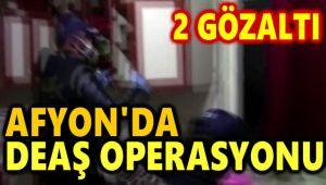 AFYON'DA DEAŞ OPERASYONU, 2 GÖZALTI