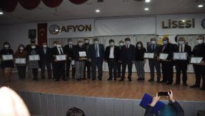 AFYON'DA E-TWİNNİNG ÖDÜLLERİ VERİLDİ