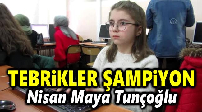 AFYONLU ÖĞRENCİ, YİNE DÜNYA ŞAMPİYONU OLDU!..