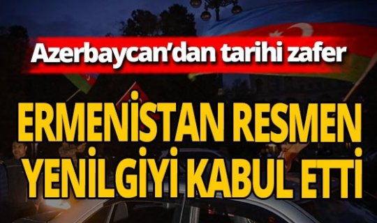 AZERBAYCAN'DAN TARİHİ ZAFER!.. İMZALAR ATILDI!..