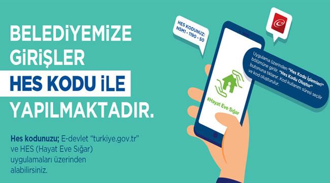 BELEDİYE'YE HES KODU ŞARTI!..