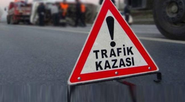 ÇAY'DA TRAFİK KAZASI, 1 ÖLÜ