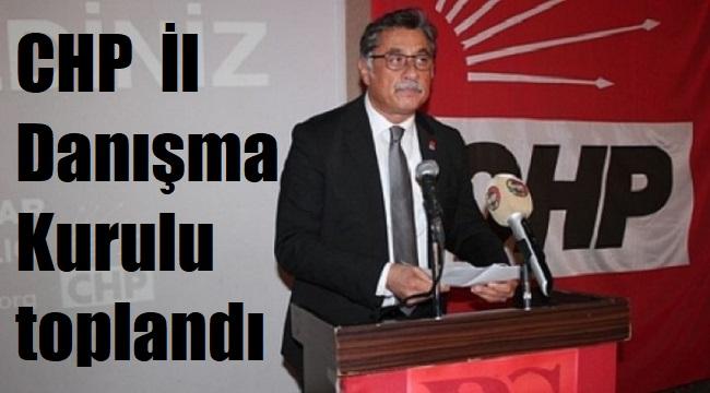 CHP İL DANIŞMA KURULU TOPLANDI