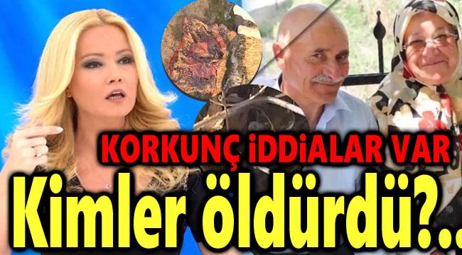 DİNAR'DA YAŞLI ÇİFTİ KİMLER, NEDEN ÖLDÜRDÜ?!..