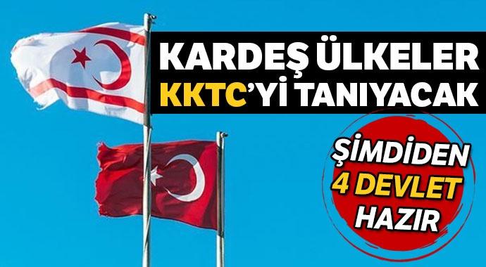 DOST ÜLKELER KKTC'Yİ TANIYACAK!..