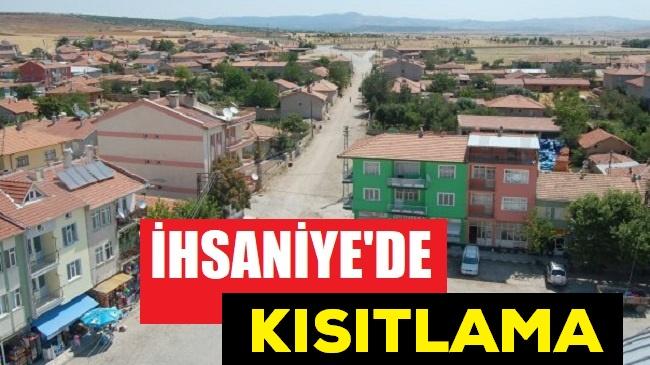 İHSANİYE'DE TEDBİRLER ATTIRILDI