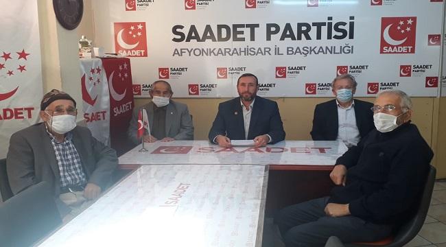 SAADET PARTİSİ'NDEN SAĞLIK BAKANI'NA 9 SORU!..
