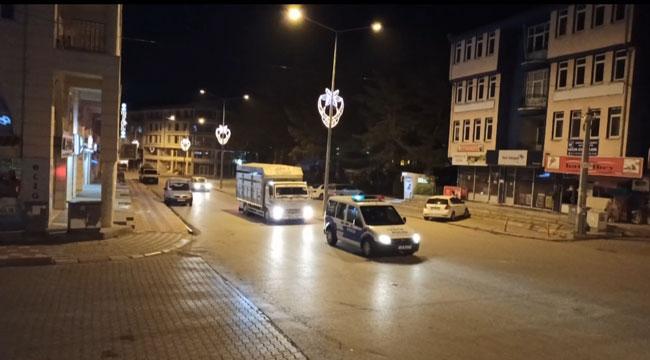 ŞUHUT'TA KISITLAMA KAPSAMINDA SIKI DENETİM