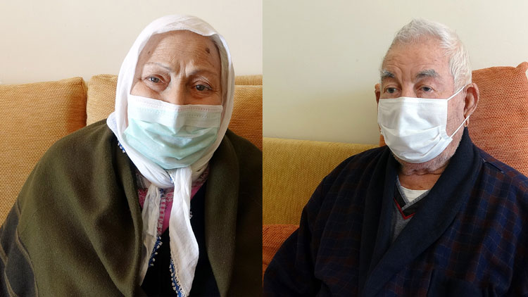92 ve 82 yaşlarındaki çift koronavirüsü yendi!..