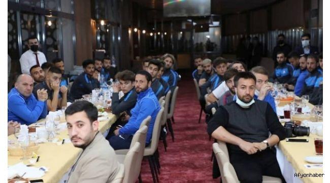 Afjet Afyonspor'a moral yemeği!..