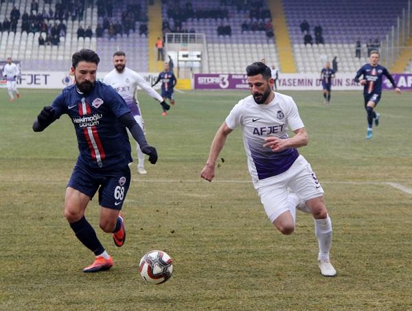 Afjet Afyonspor, deplasmandan eli boş döndü:4-1