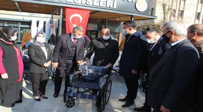 AFYON'DA EMANET TEKERLEKLİ SANDALYE DÖNEMİ BAŞLIYOR