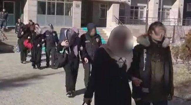 Afyon'da FETÖ'nün emniyet mahrem kadın yapılanmasına operasyon!..