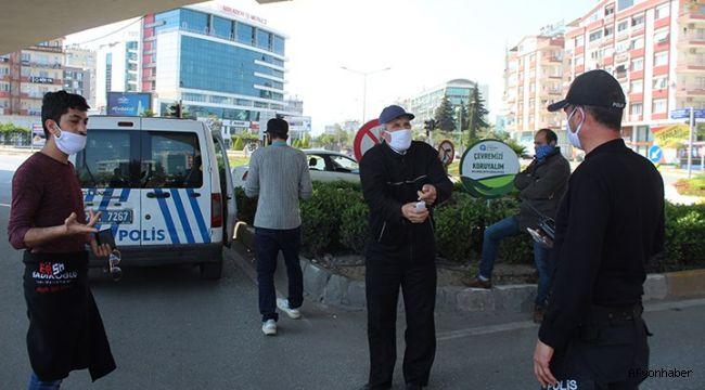 Afyon Polisi göz açtırmıyor, ihlal edene para cezası!..