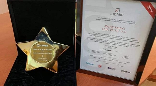 Afyonkarahisar'ın şirketi, kategorisinde Türkiye ihracat birincisi oldu