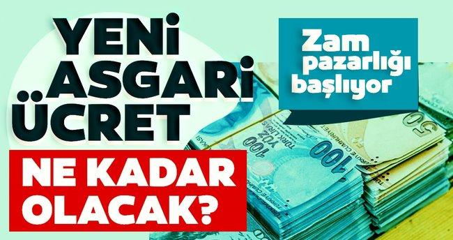 ASGARİ ÜCRET GÖRÜŞMELERİ BAŞLADI!..