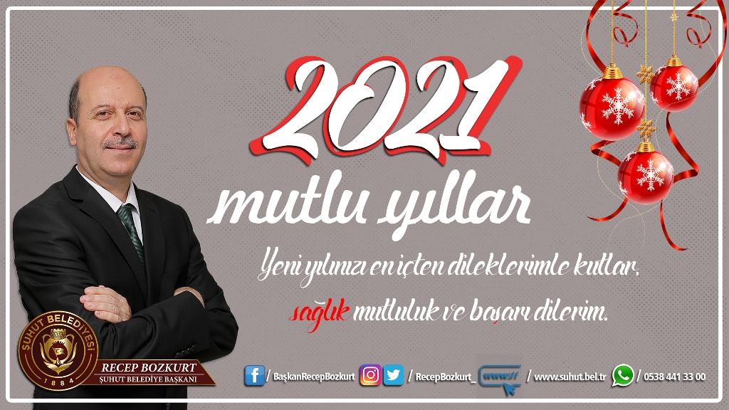 Başkan Bozkurt'tan yeni yıl mesajı