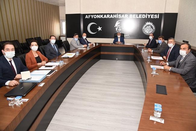 Başkan Çöl, Çevre Hizmet Birliği Toplantısına katıldı