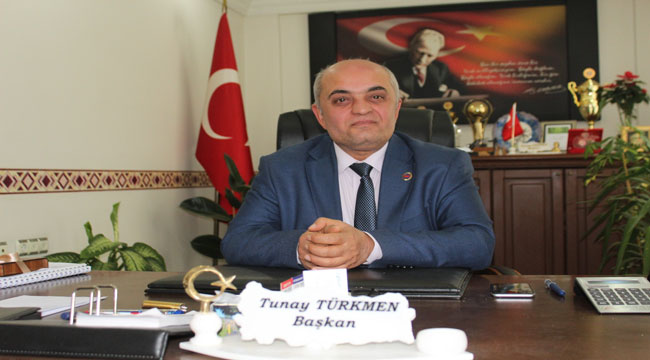 """Başkan Türkmen: """"Çalışmalarımız artarak devam edecek"""""""