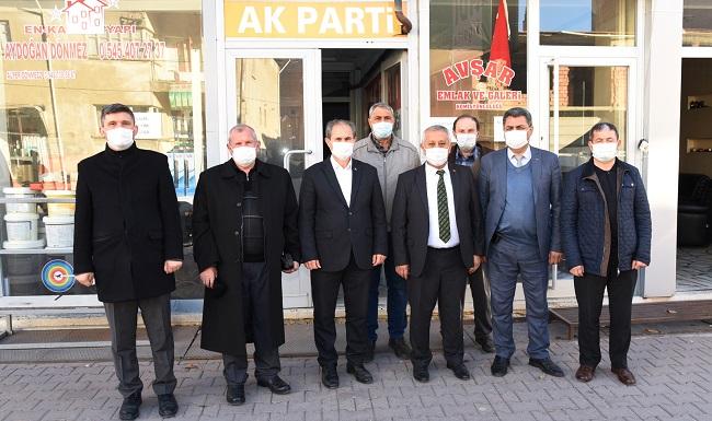Başkan Zeybek Çay'da