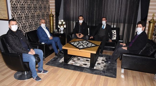 BBP heyeti, Başkan Zeybek'i ziyaret etti
