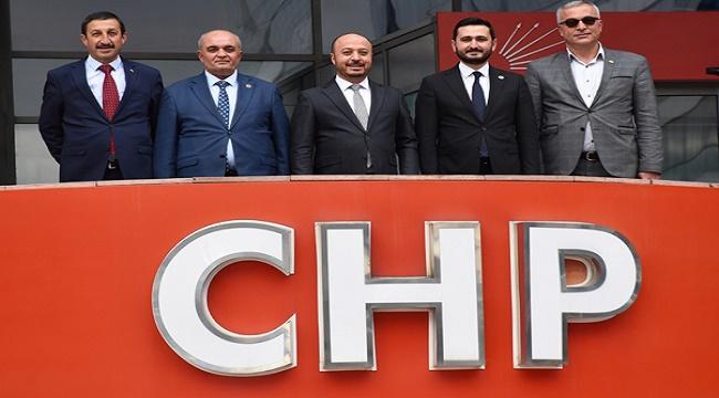 CHP'li Belediye Başkanları, Ankara'da temaslarda bulundu